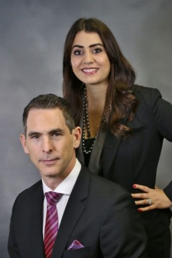 Attorneys Robert Montefusco and Meaghan Howard